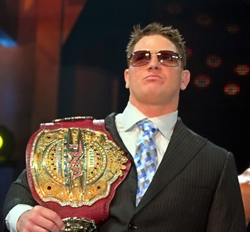 Winning the TNA Legends/Television Championship (of which he is a two-time title holder) made him the first TNA Grand Slam Champion.