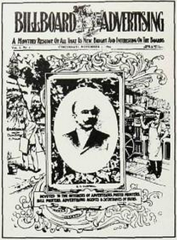 The first issue of                                 Billboard                                in 1894