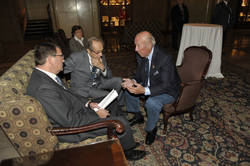 Carter, William Perry and former Secretary of State George P. Shultz, October 12, 2012