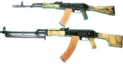 AK-74 and RPK-74