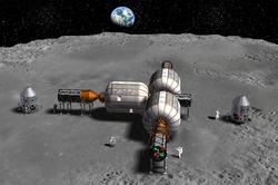 Bigelow Aerospace lunar inflatable habitats