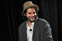 Kutcher attending                                 TechCrunch Disrupt                                in                                 New York City                                ,                                 New York                                on May 24, 2011