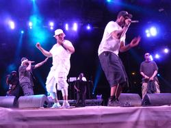 Wu-Tang Clan performing at Budapest - 2015.07.07