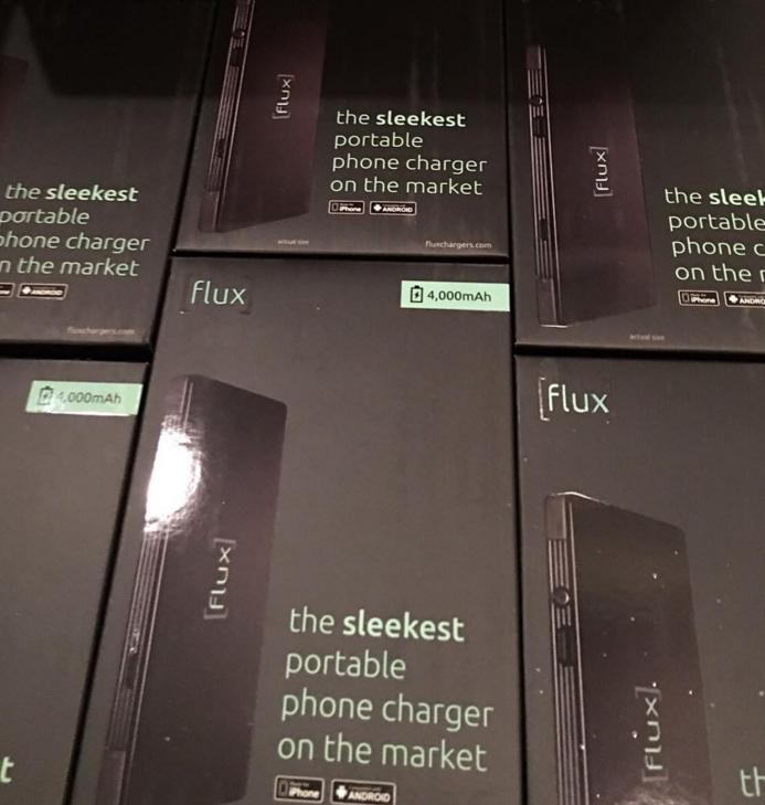 Flux packaging.