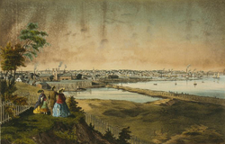 Providence in the mid-19th century