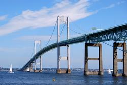 The Claiborne Pell Newport Bridge
