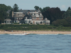 "Some Rhode Islanders have second ""summer homes"" by the coast."