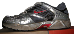 A Nike brand                                 athletic shoe