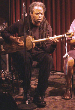 Moroccan Gnawa musician Hassan Hakmoun