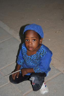 An African Hebrew Israelite of Jerusalem child in Dimona