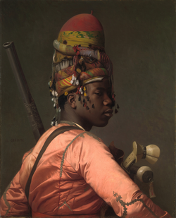 A Bashi-bazouk of the Ottoman Empire, painting by Jean-Léon Gérôme, 1869