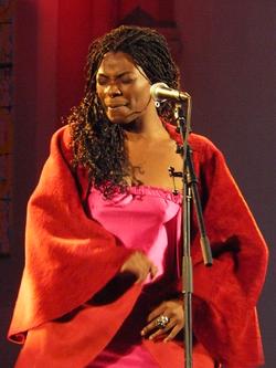 Spanish singer Concha Buika.