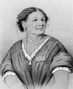 A painting of Mary Seacole.