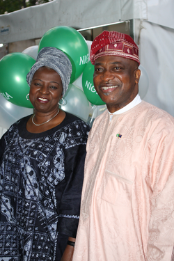 Nigerian attendants at the 2012 National Multicultural Festival in Canberra
