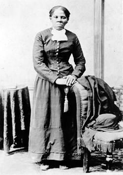 Harriet Tubman, an African-American fugitive slave, abolitionist, and conductor of the Underground Railroad