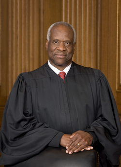 Associate Justice of the Supreme Court of the United States Clarence Thomas