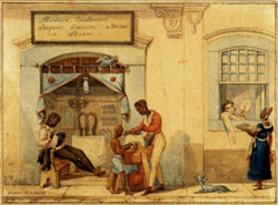 Black people in Brazil c. 1821