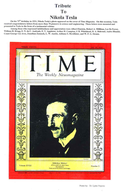 """Time front cover, Vol XVIII, No. 3, 20 July 1931"""