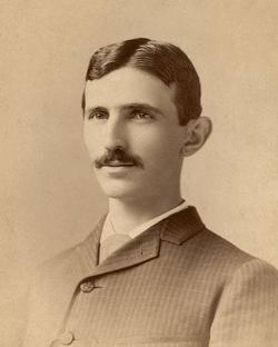 Tesla circa 1885