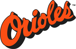 The Orioles wordmark (1988–1994)