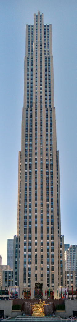 """Comcast Building (30 Rockefeller Plaza, or """"30 Rock"""") from where the show is broadcast"""