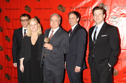 Lorne Michaels and the cast of Saturday Night Live at the 68th Annual Peabody Awards for Political Satire 2008