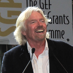 Branson at the United Nations Conference on Sustainable Development in 2012.