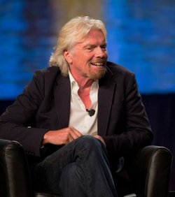 Branson at a conference in San Diego, California, on 8 July 2013.