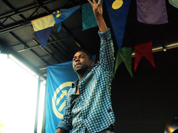 Lamar performing in 2012.