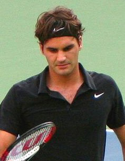 """Federer was coined """"Darth Federer"""" by fans and commentators at the 2007 US Open."""