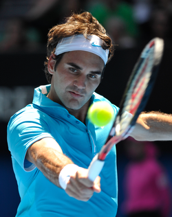 Federer won a record 16th Major at the 2010 Australian Open