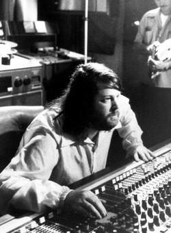 Brian Wilson at a 15 Big Ones session, circa 1976