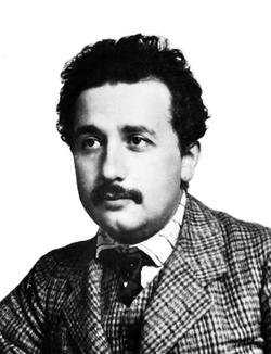 Albert Einstein in 1904 (age 25)