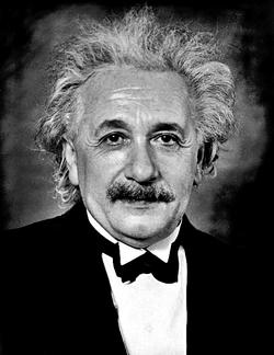 Portrait taken in 1935 in Princeton