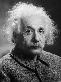 Einstein in 1947