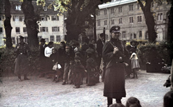 Sinti and other Romani about to be deported from Germany, May 22, 1940.