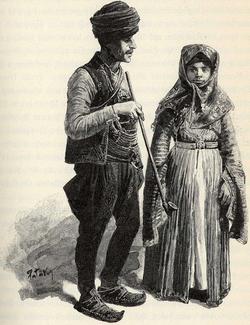 Muslim Romanies in Bosnia and Herzegovina (around 1900)
