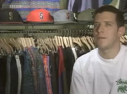 a young James Jebbia