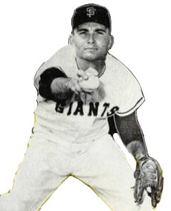 Giants pitcher Ron Herbel in a 1963 issue of Baseball Digest.