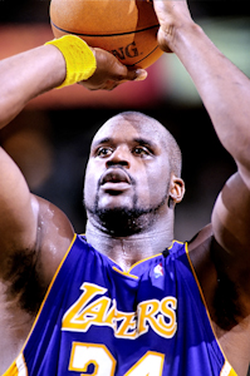 In 8 seasons with the Los Angeles Lakers (1996–2004), O'Neal won three consecutive championships from 2000 to 2002 and appeared in the 2004 NBA Finals.