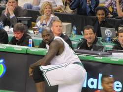 O'Neal finished his career with the Boston Celtics