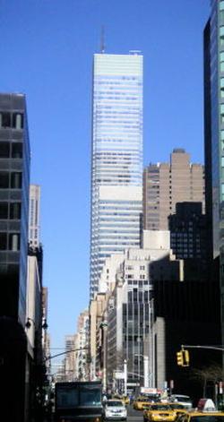 Bloomberg Tower on Lexington Avenue in Midtown Manhattan