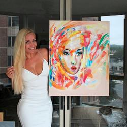 Sabrina Painting