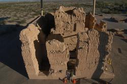 Casa Grande Ruins National Monument / overhead