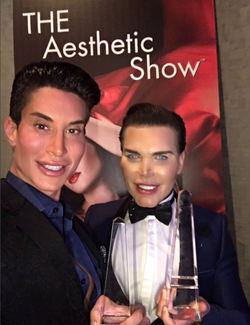 With Justin Jedlica winning award at 2016 Aesthetic Academy Awards Show