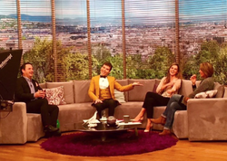 On chat show