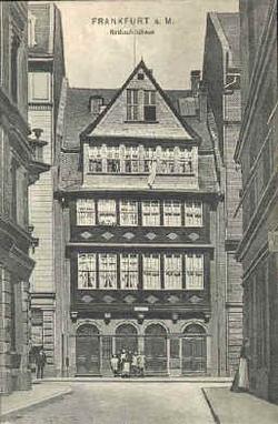 House of the Rothschild family, Judengasse, Frankfurt
