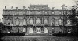 Palace of Baron Albert von Rothschild, (photo 1884)
