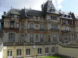 Château de Montvillargenne. A Rothschild family house in Picardy, France.