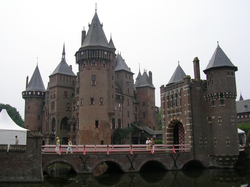 The Neo-Gothic Castle de Haar